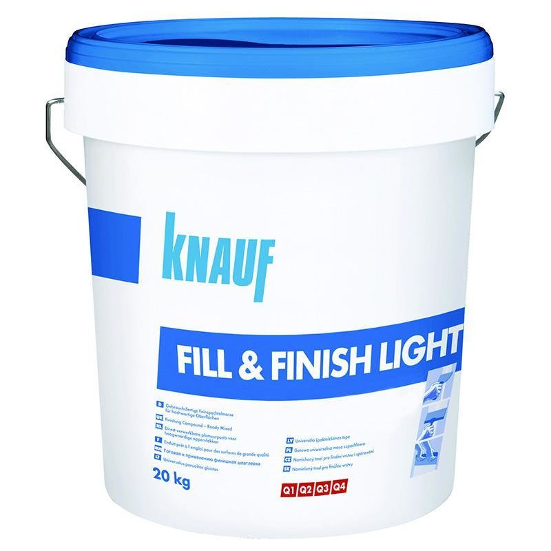 Glet gata preparat Knauf Fill & Finish Light 20 kg